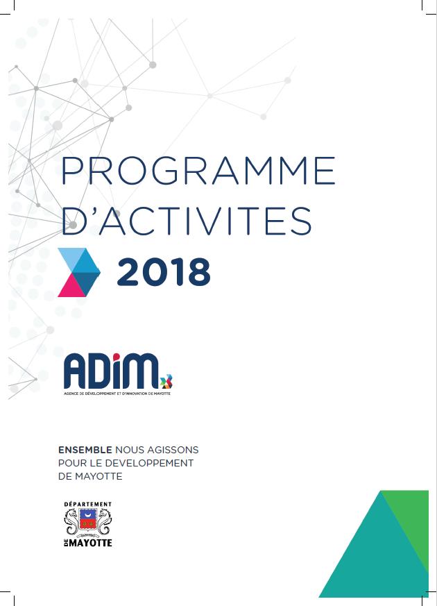 Programme d'activités 2018